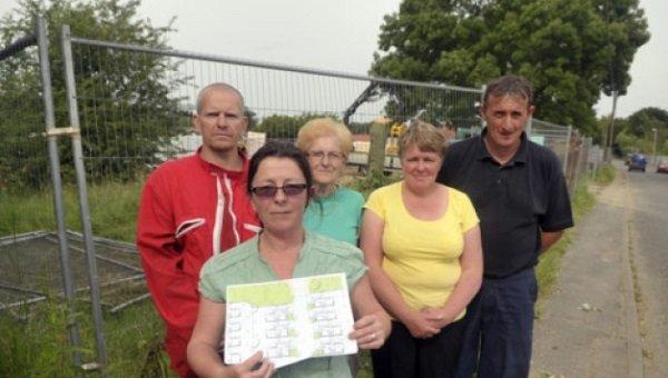 Elm villagers anger over felled trees