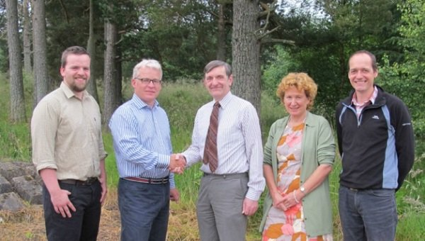 Deeside forestry firms join forces at the Activity Park