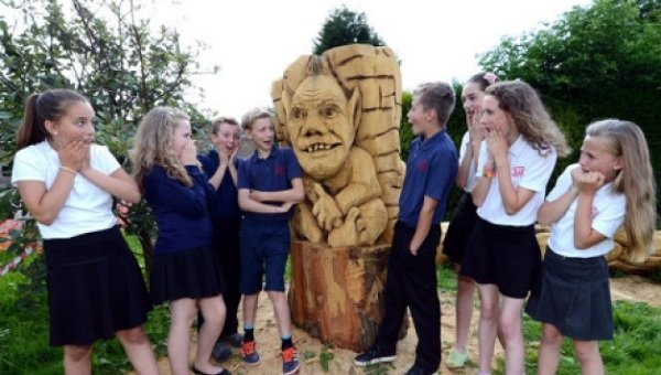 New leaf for historic tree