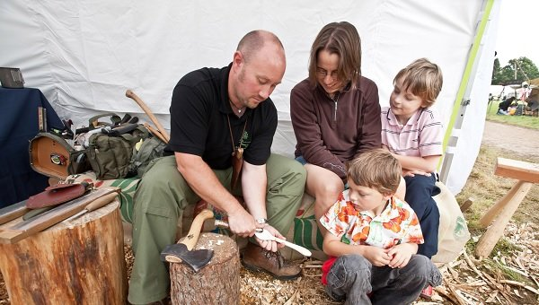 Tree cheers for forest festival at Westonbirt Arboredum