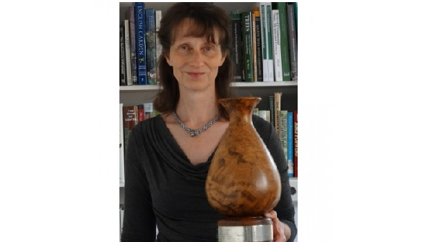 A tree specialist awarded national trophy for arboricultural excellence