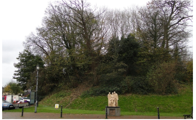 Trees to be removed from Castle Mound, Barnstaple