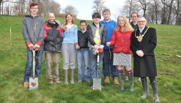 50,000th new tree for Sheffield