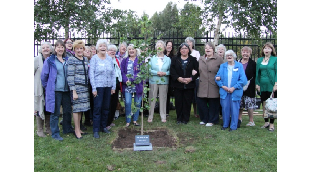 Ancient tree planting honours centenary year of Women's Institute