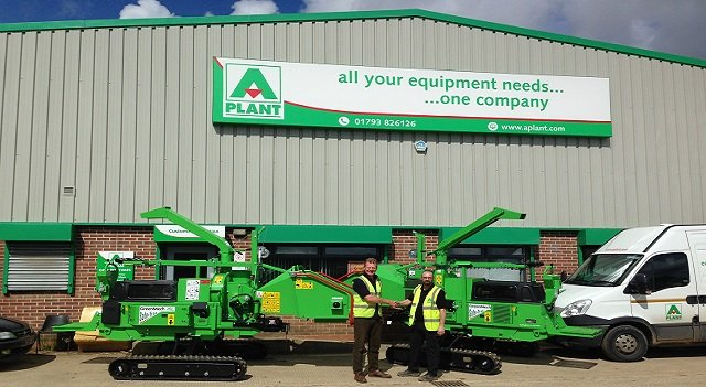 A-Plant add new GreenMech woodchippers to their collection