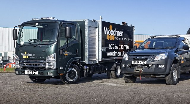 Isuzu Grafter is top of the tree for Woodmen UK