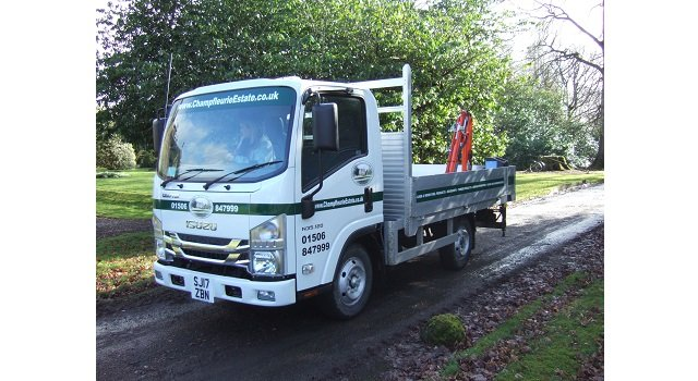 Isuzu Grafters Play Key Role At Traditional Scottish Working Estate