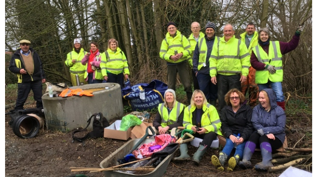 Volunteers plant nearly 500 trees in Oulton