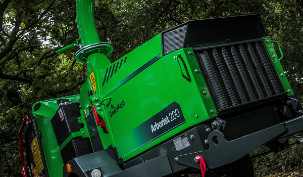 GreenMech to showcase their later range of 200mm capacity chippers at this year's Arb Show