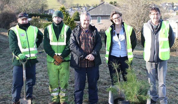 400 trees planted in Cumbria's Kendal estate