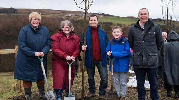 Historic first planting of 'groundbreaking' Northern Forest