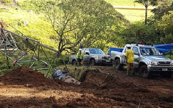 Trees to remain around pipeline which broke in cyclone