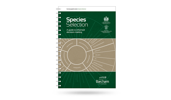 Barcham's latest free publication facilitates tree species selection