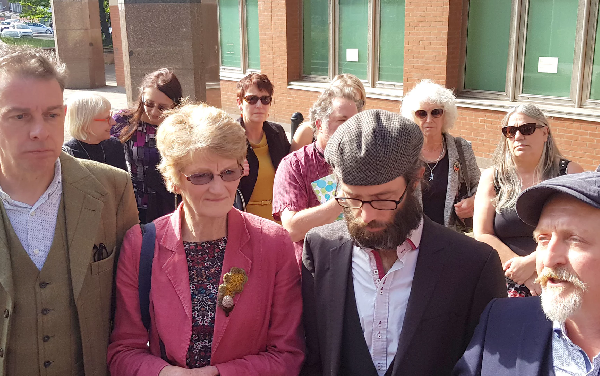 Protesters trying to save Sheffield street trees avoid jail