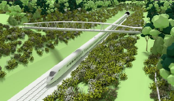 Seven million trees to line HS2