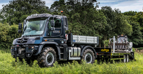 Greenworx Branches Out With Mercedes Benz Unimog Pro Arb Magazine