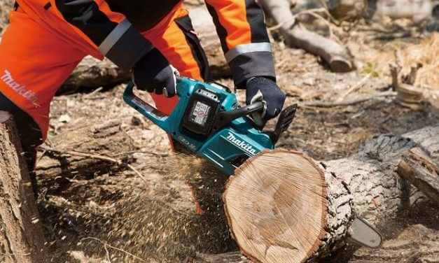 Makita launches more 36V cordless chainsaws