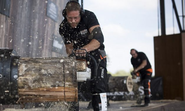 National athletes to compete for crown for STIHL TIMBERSPORTS® British Championship