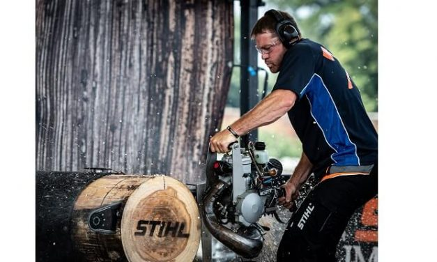 Elgan Pugh wins fifth consecutive STIHL TIMBERSPORTS® British Championship