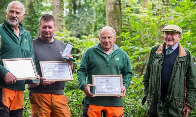 Three forestry legends receive awards