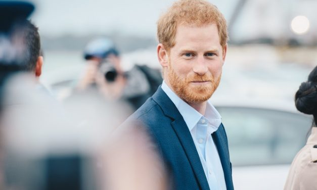 "Prince Harry encourages people to ""look up"" and share the beauty of trees"