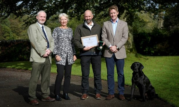 Abbeystead Estate head forester recognised for 40 years' service