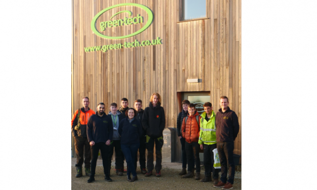 Askham Bryan College students join Green-tech for national tree planting week