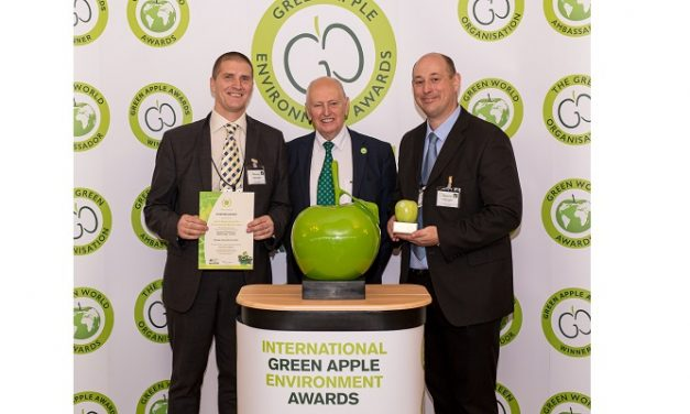 London Stansted wins gold at Green Apple Awards for environmental best practice