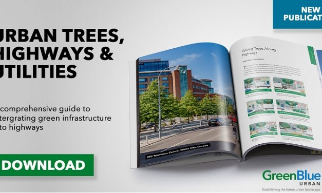 GreenBlue Urban publishes Urban Trees, Highways & Utilities Guide