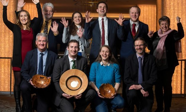 young forester among award winners at Confor awards dinner