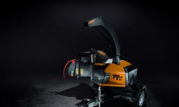 Frosts release new wood chipper