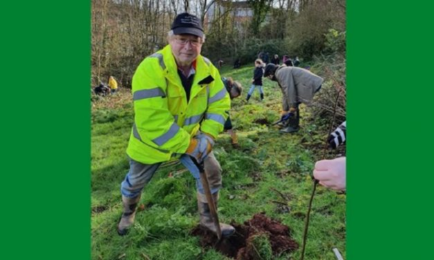 450 trees planted in Exeter