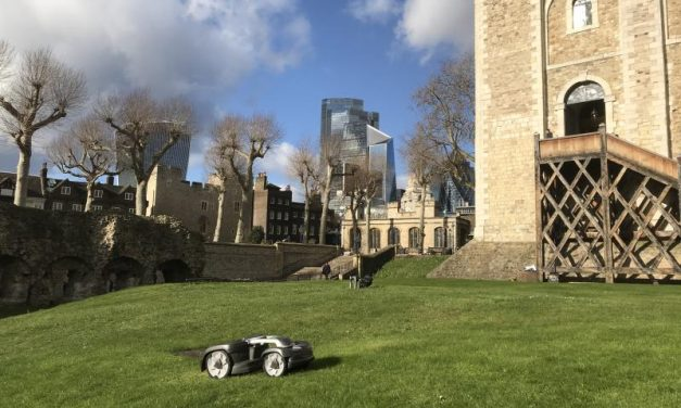 Husqvarna Automower® takes up residence at the Tower of London