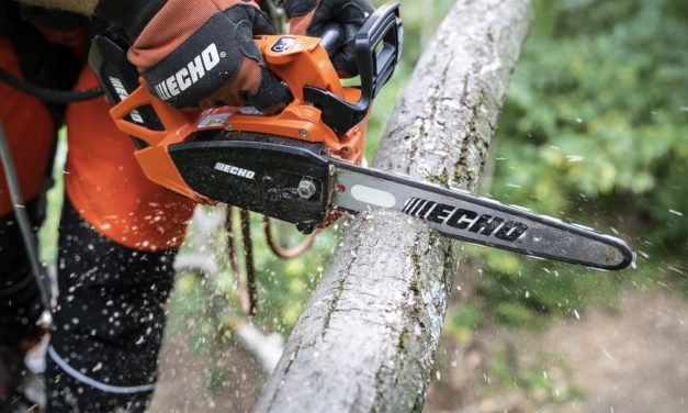 ECHO Release new battery-powered chiansaw