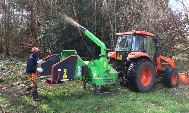 Woodland Management made easier for Wildernesse GC thanks to GreenMech CM220TMP