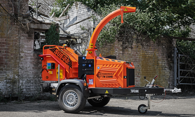 Timberwolf launches new pack of six Stage V compliant wood chippers.