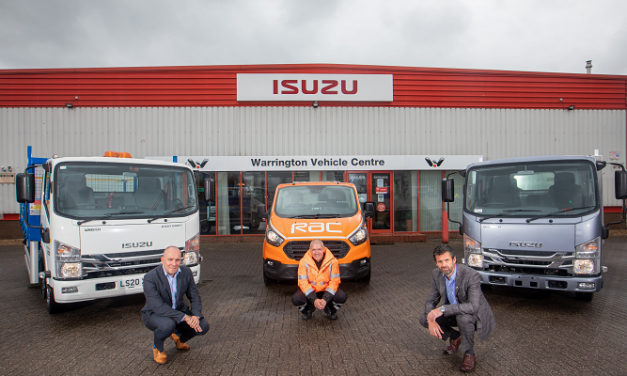 RAC secures contract to become Isuzu Truck UK's roadside assistance and contact centre partner