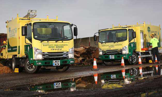 Isuzu sets the standard for Bartlett Tree Experts