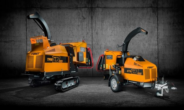 Forst launches 8D Series of Diesel-powered woodchippers