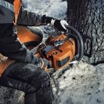 Husqvarna's top tips for chainsaw users this winter