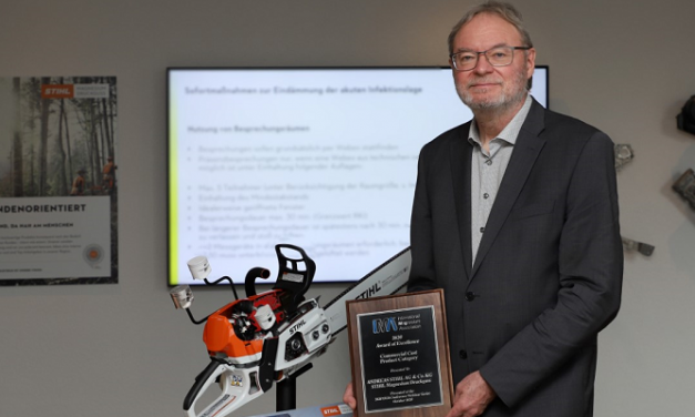 STIHL chainsaw wins top award for magnesium piston technology