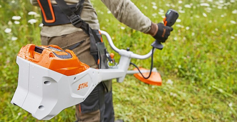 Stihl Brushcutters - in action