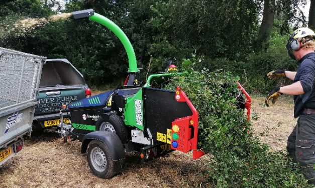 Powerful EVO 165D exceeds the expectations of Norfolk based tree surgeon